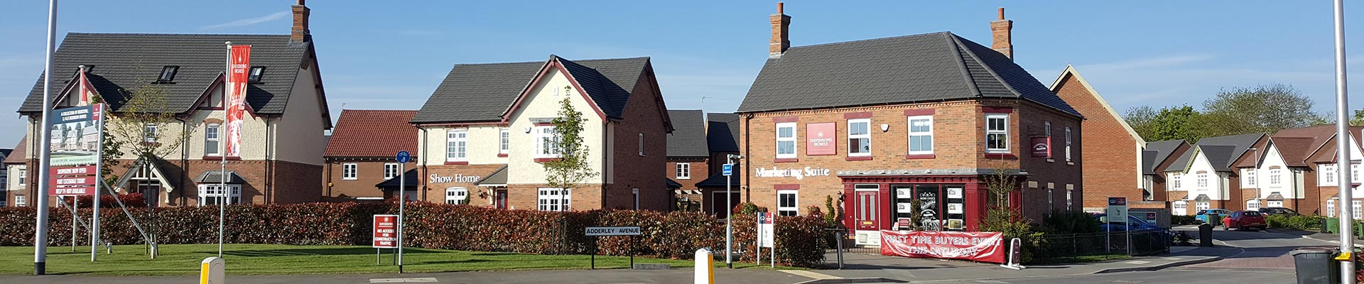 New housing, Nuneaton